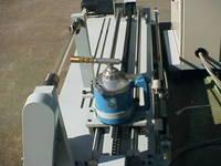 石英ガラス管加熱洗浄装置