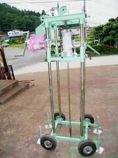 Soil and Gas sample collection machine Small Type