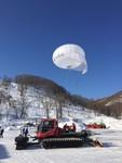 ニセコスキー場にての雪山遭難捜索実験