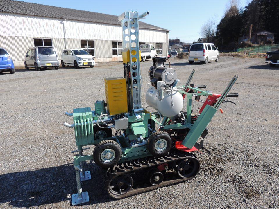 簡単切替狭地用自動地盤調査機UR-10型
